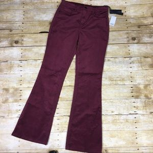 Blank NYC sangria flare cords. Size 28x32